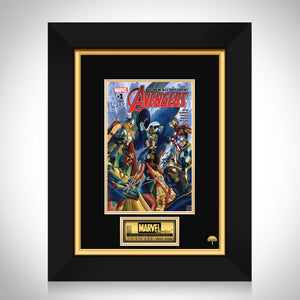 All New All Different Avengers #1 - Stan Lee Limited Signature Edition Comic Book Cover Art Custom Frame