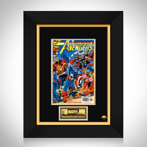 Heroes Return The Avengers #1 - Stan Lee Limited Signature Edition Comic Book Cover Art Custom Frame