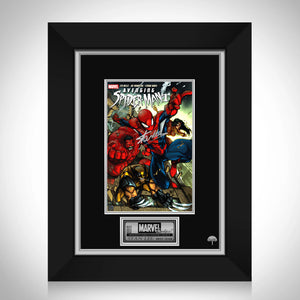 Avenging Spider-Man #1 Stan Lee Limited Signature Edition Comic Book Cover Art Custom Frame