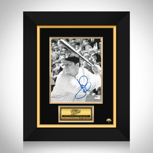 The Babe-  Hand-Signed Babe Ruth Movie Photo By John Goodman Custom Frame