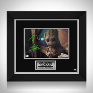 Guardians of the Galaxy Baby Groot Limited Signature Edition Studio Licensed Photo Custom Frame