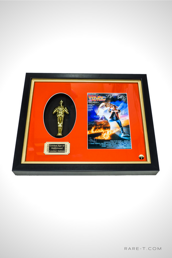 RARE-T Exclusive Limited Edition 'BACK TO THE FUTURE - GOLD OSCAR' Custom Frame