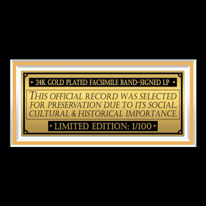 Barbra Streisand The Way We Were Limited Signature Edition Studio Licensed Gold LP Custom Frame