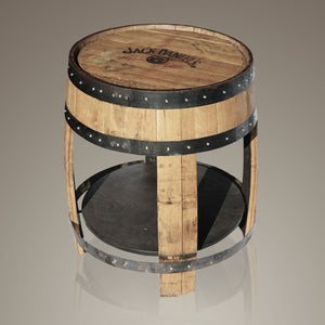 Jack Daniels Whiskey Barrel // Oversized Table