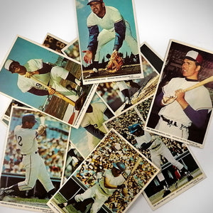 Montreal Expos- Vintage 1972 Pro Stars Set of 12 Postcards