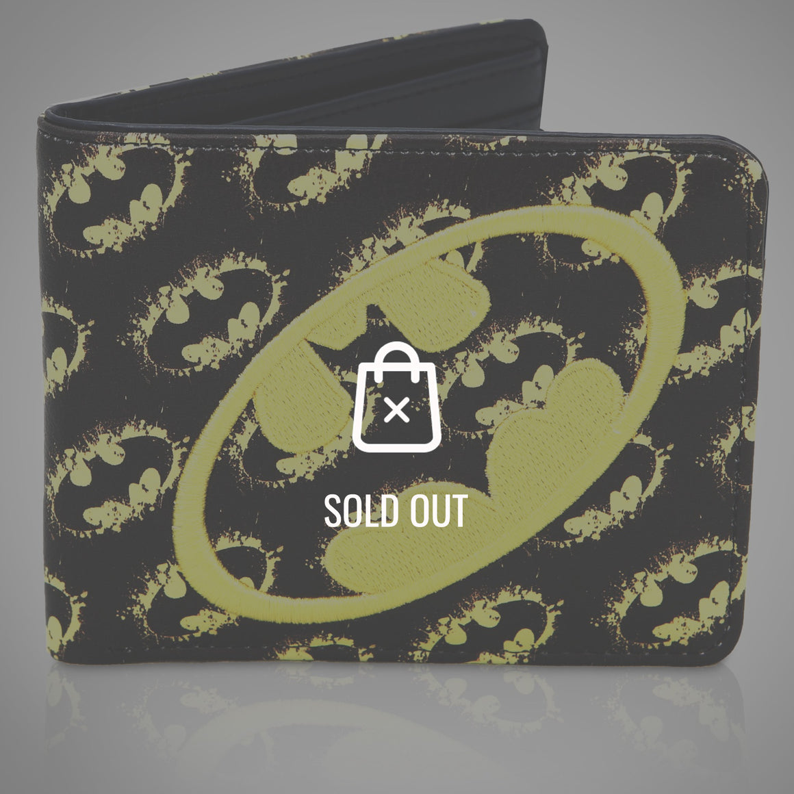 BATMAN YELLOW LOGOS Wallet
