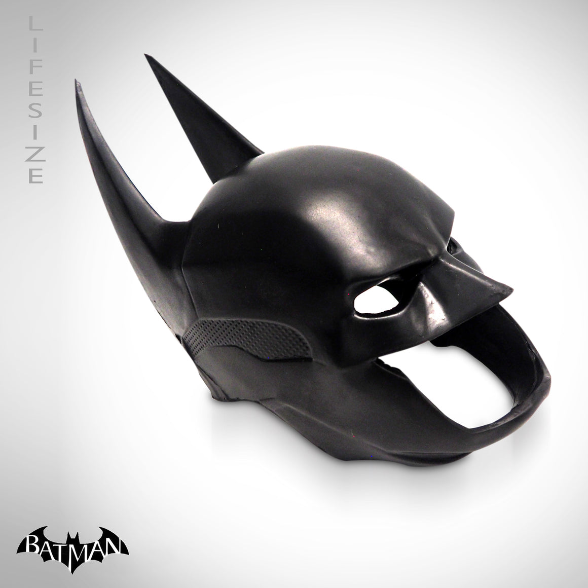 Batman Mask Helmet Life size Replica side view