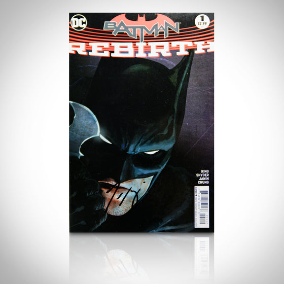 'DC REBIRTH BATMAN #1 - HANDSIGNED BY TOM KING' Comic Book