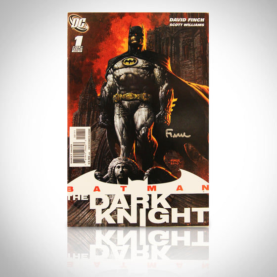 'BATMAN THE DARK KNIGHT #1 - HANDSIGNED BY DAVID FINCH' Comic Book