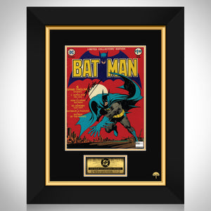Batman- Vintage Limited Edition Vol 1 C-25 (1974) Hand-Signed Giant Comic By Stan Lee Custom Frame