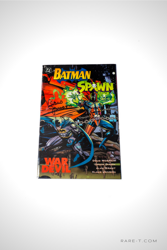 'BATMAN/SPAWN - HANDSIGNED BY KLAUS JANSON' Comic Book