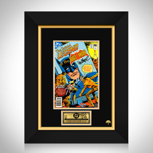 The Untold Legend of the Batman #1 Stan Lee Limited Signature Edition Comic Book Cover Art Custom Frame