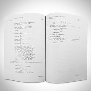 Battlestar Galactica Script Limited Signature Edition Studio Licensed Custom Frame