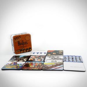 Beatles Coasters - Set Of 10 Premium Collector's Case Coasters