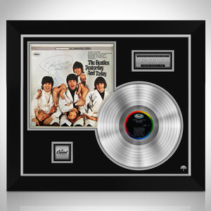 The Beatles Butcher Limited Signature Edition Studio Licensed Platinum LP Custom Frame