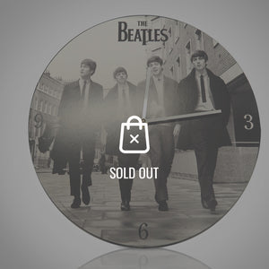 Beatles Wood Wall Clock