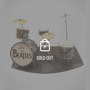 Handmade 'The Beatles' Mini Drum Set