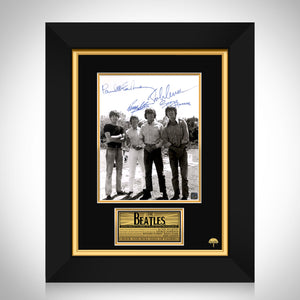 The Beatles B&W Photo Limited Signature Edition Studio Licensed Custom Frame