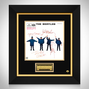 The Beatles Help LP Cover Limited Signature Edition Studio Licensed Custom Frame
