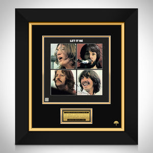 The Beatles Let it be LP Cover Limited Signature Edition Studio Licensed Custom Frame