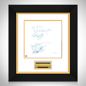 The Beatles White Album No.0000001 LP Cover Limited Signature Edition Studio Licensed Custom Frame