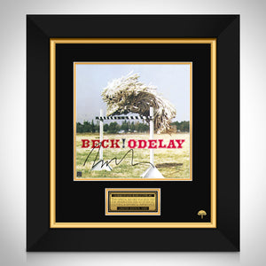 Beck - Odelay LP Cover Limited Signature Edition Licensed Custom Frame