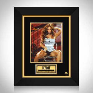 Beyonce Limited Signature Edition Studio Licensed Photo Custom Frame