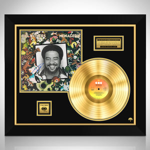 Bill Withers - Menagerie Limited Signature Edition Studio Licensed Gold LP Custom Frame