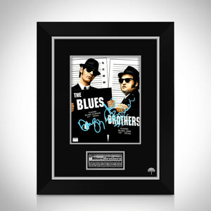 Blues Brothers- Hand-Signed Photo by John Belushi & Dan Aykroyd