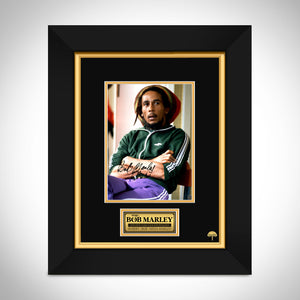 Bob Marley Limited Signature Edition Studio Licensed Photo Custom Frame