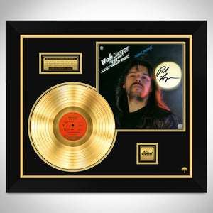 Bob Seger Night Moves Limited Signature Edition Studio Licensed Gold LP Custom Frame