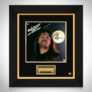 Bob Seger Night Moves LP Cover Limited Signature Edition Studio Licensed Custom Frame