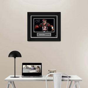 Tom Brady Tampa Bay Buccaneers Photo Limited Signature Edition Studio Licensed Custom Frame