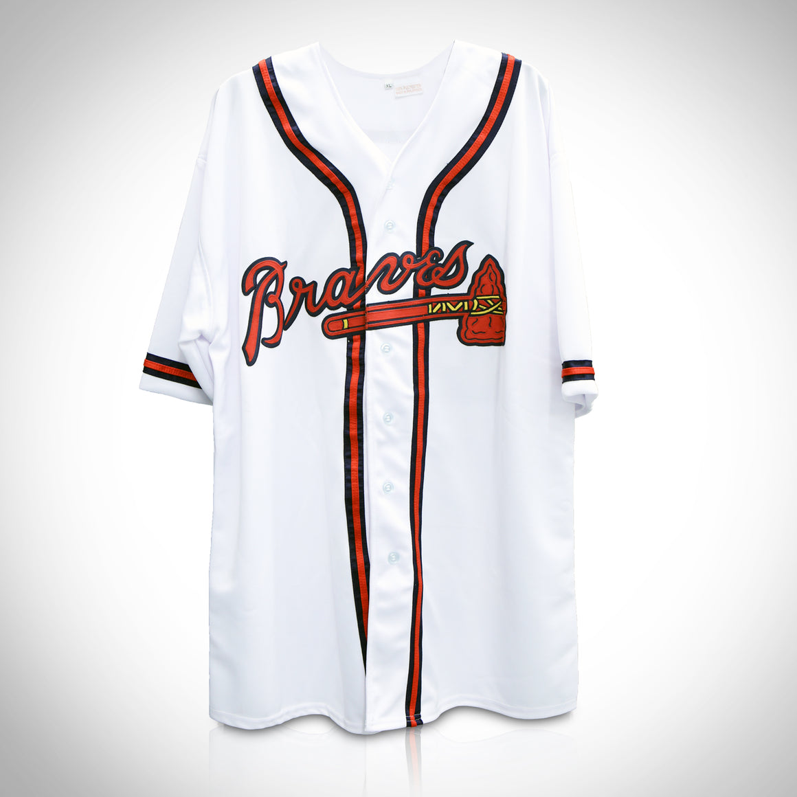 'ATLANTA BRAVES JERSEY HANDSIGNED BY ANDRUW JONES'