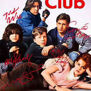 The Breakfast Club Script Limited Signature Edition Studio Licensed Custom Frame