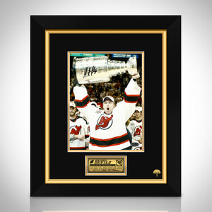Martin Brodeur- New Jersey Devils Hand-Signed Photo By Martin Brodeur Custom Frame