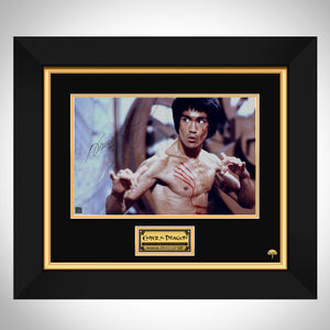Bruce Lee - Enter The Dragon Photo Limited Signature Edition Studio Licensed Custom Frame