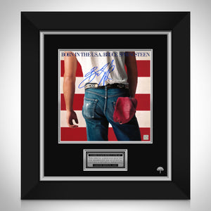 Bruce Springsteen Born in the USA  Limited Signature Edition Studio Licensed LP Cover Custom Frame