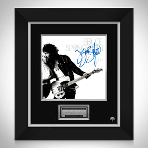 Bruce Springsteen Born to RunLimited Signature Edition Studio Licensed LP Cover Custom Frame