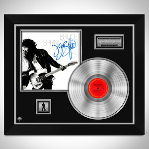 Bruce Springsteen Born to Run Platinum LP Limited Signature Edition Studio Licensed Custom Frame