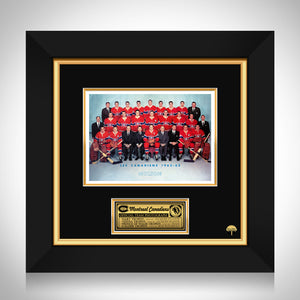 Montreal Canadiens- 1962-1963 Vintage Official Team Photograph Custom Frame
