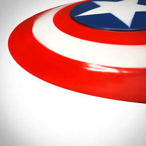 Captain America Aluminum Shield Steve Rogers Life size Replica Side view