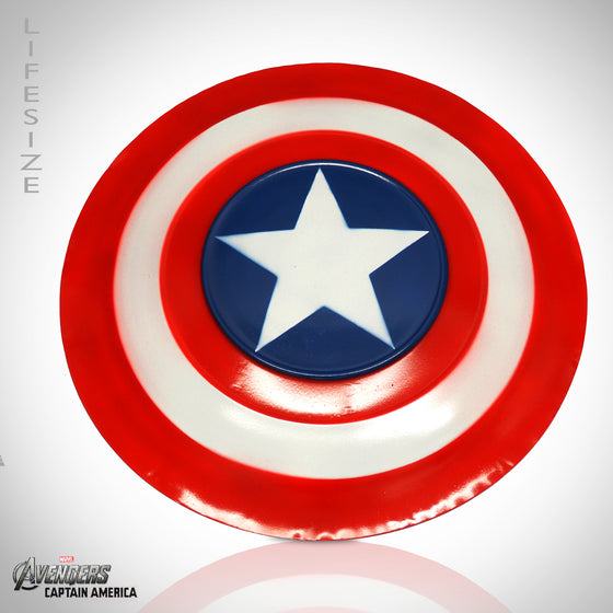 CAPTAIN AMERICA Hand Made Prop Shield