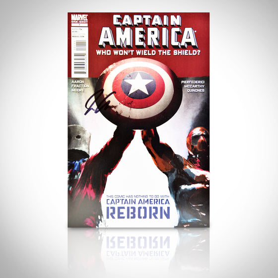 'CAPTAIN AMERICA WHO WON'T WIELD THE SHIELD #1 - HANDSIGNED BY JASON AARON' Comic Book
