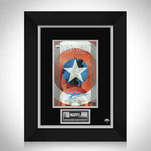 Captain America The Chosen #1 Stan Lee Limited Signature Edition Comic Book Cover Art Custom Frame