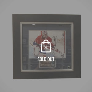 Rare-T Exclusive 'Photo Handsigned By Carey Price' Custom Frame