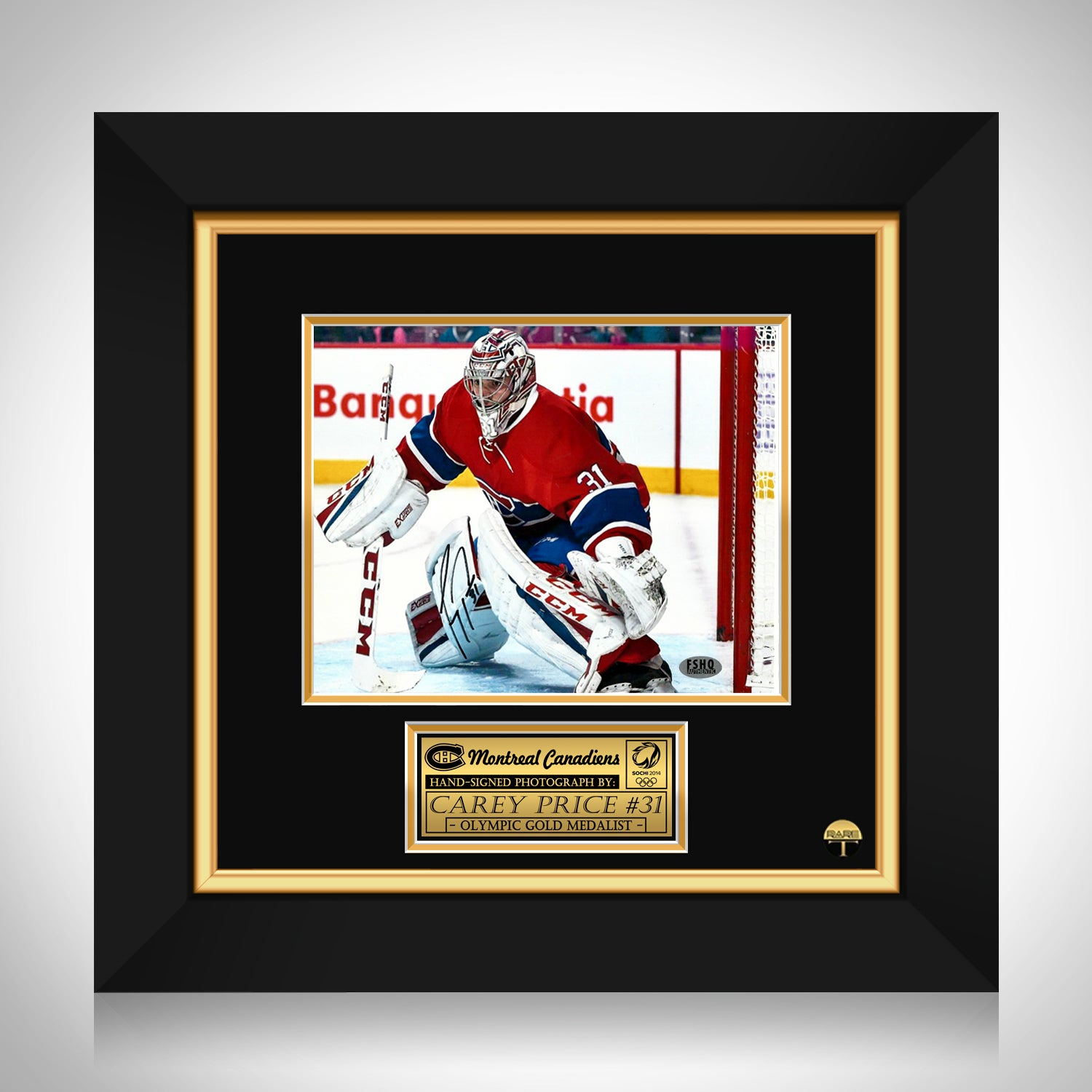 super popular 1d313 d82a2 Carey Price- Hand-Signed Montreal Canadians Photo by Carey Price