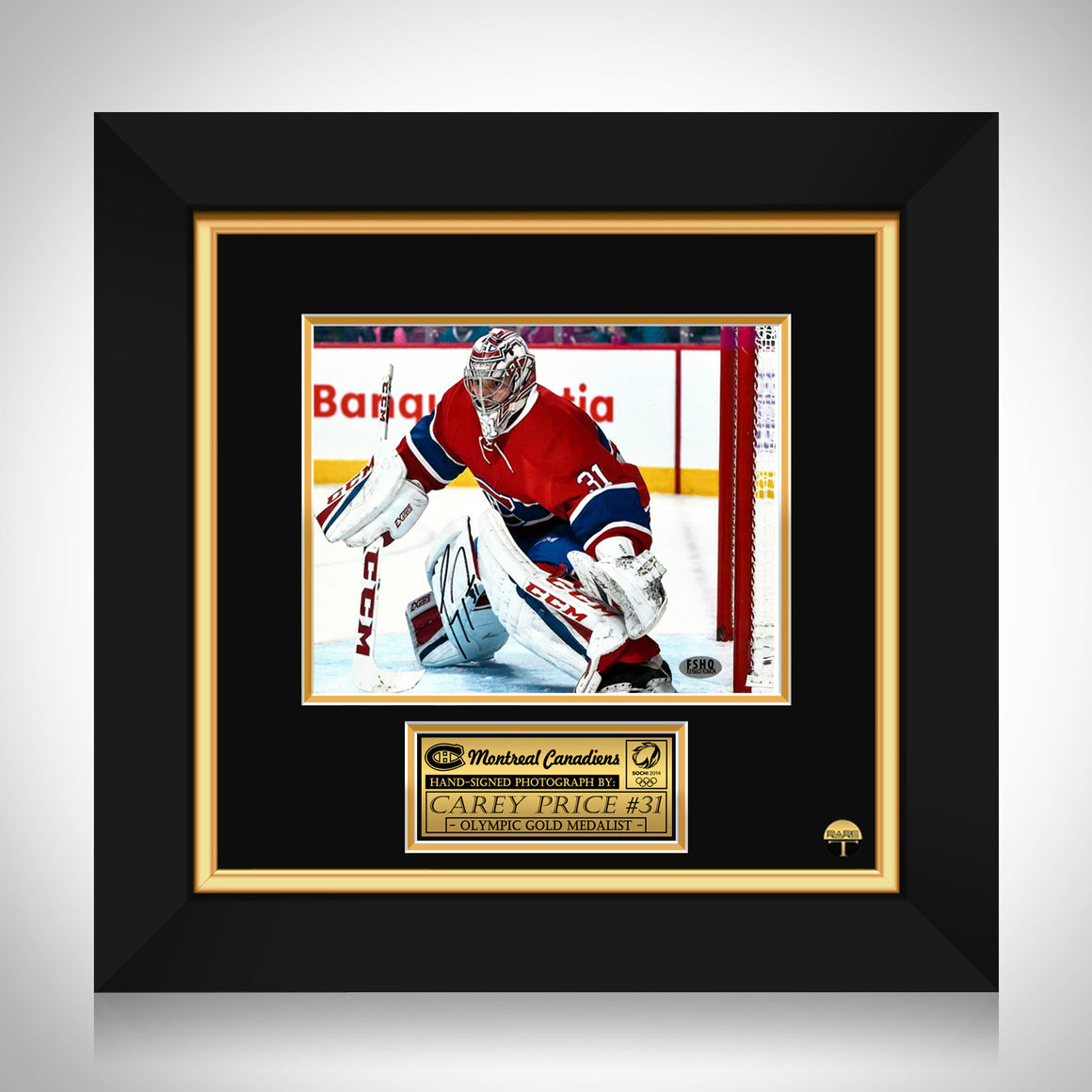 Carey Price- Hand-Signed Montreal Canadians Photo by Carey Price