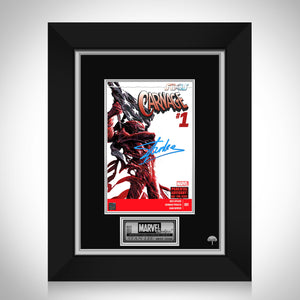Carnage #1 - Stan Lee Limited Signature Edition Comic Book Cover Art Custom Frame
