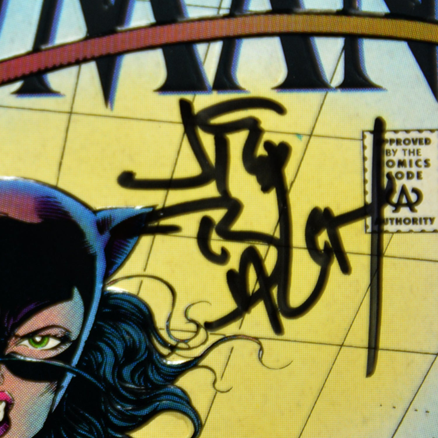 CATWOMAN #1 - HANDSIGNED BY JIM BALENT\' Comic Book - RARE-T